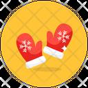 Xmas Gloves Christmas Gloves Mitt Icon