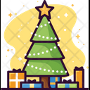 Tree Christmas Xmas Icon