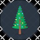 Xmas Tree Christmas Tree Decorated Tree Icon