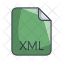 Xml Code File Icon