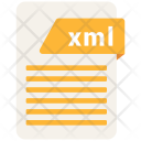 Xml File Formats Icon