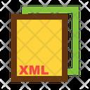 Xml Ile Format Icon
