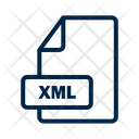 Xml File Format Icon