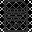 File Format Xml Icon