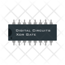 Xor Gate Circuit Icon