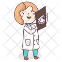 Radiographer Doctor Physician Icon