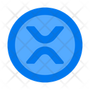 Xrp Digital Cryptocurrency Icon