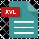 Xvl File Sheet Icon