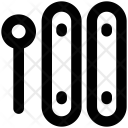Xylophone Melody Stick Icon