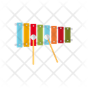 Xylophone Mallet Percussion Icon