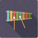 Xylophone Percussion Mallet Icon