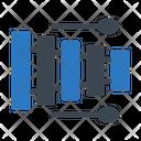 Xylophone Music Toy Icon