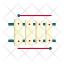 Xylophone Percussion Instrument Icon