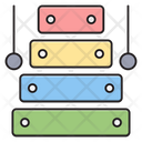 Xylophone Sticks Music Icon
