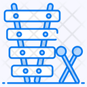 Xylophone Mallets Musical Instrument Icon