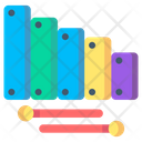 Xylophone Music Instrument Icon