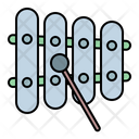 Xylophone Instrument Percussion Icon