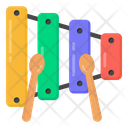 Musical Instrument Percussion Instrument Xylophone Icon