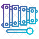 Music And Multimedia Kid And Baby Xylophones Icon