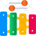 Xylophones Childhood Musical Instrument Icon