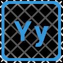 Y Latin Letter Icon