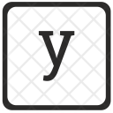 Y Math Element Icon