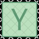 Y coordinate Icon