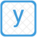 Key Y Lower Icon