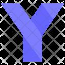 Y Design Letter Icon
