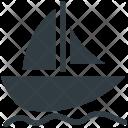 Yacht Sailboat Boat Icon