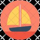Yacht Boat Sailboat Icon