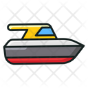 Yacht Motorboat Sailboat Icon