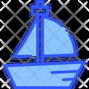 Sea Yacht Boat Icon
