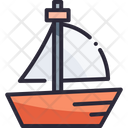 Sea Yacht Boat Icon