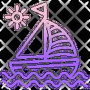 Yacht Sailing Boat Boat Icon