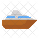 Delivery Ship Cruise Ship Water Cargo Icon