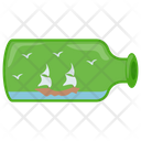 Yacht Bottle Icon