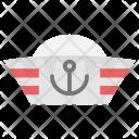 Yacht Captain Cap Icon