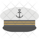 Ship Captain Cap Icon