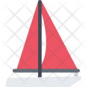 Yacht Delivery Shipping Icon