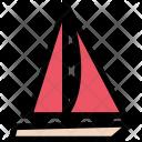 Yacht Vehicle Machine Icon