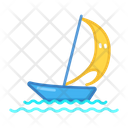 Yachting Sport Game Icon