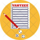 Board Games Yahtzee Game Icon
