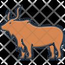 Yak Herbivores Aggression Icon