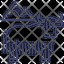 Bison Animal Buffalo Icon