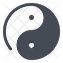 Yang Yin Chinese Philosophy Icon