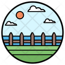 Yard Fence Farm Fence Wooden Fence Icon