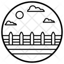 Yard Fence Icon