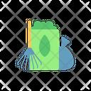 Yard Garden Waste Icon