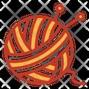 Yarn Yarn Ball Crafting Icon
